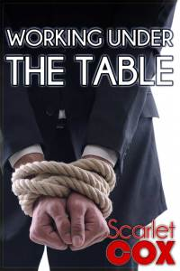 Cover Reveal: Working under the Table